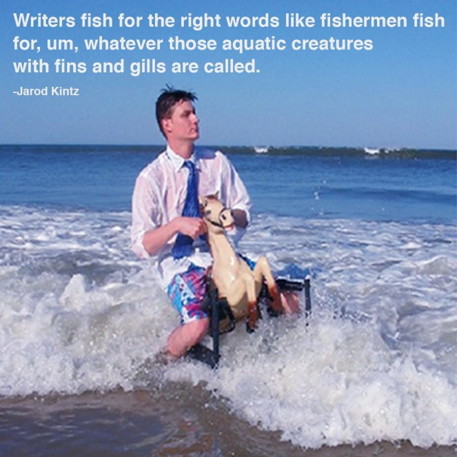writers fish