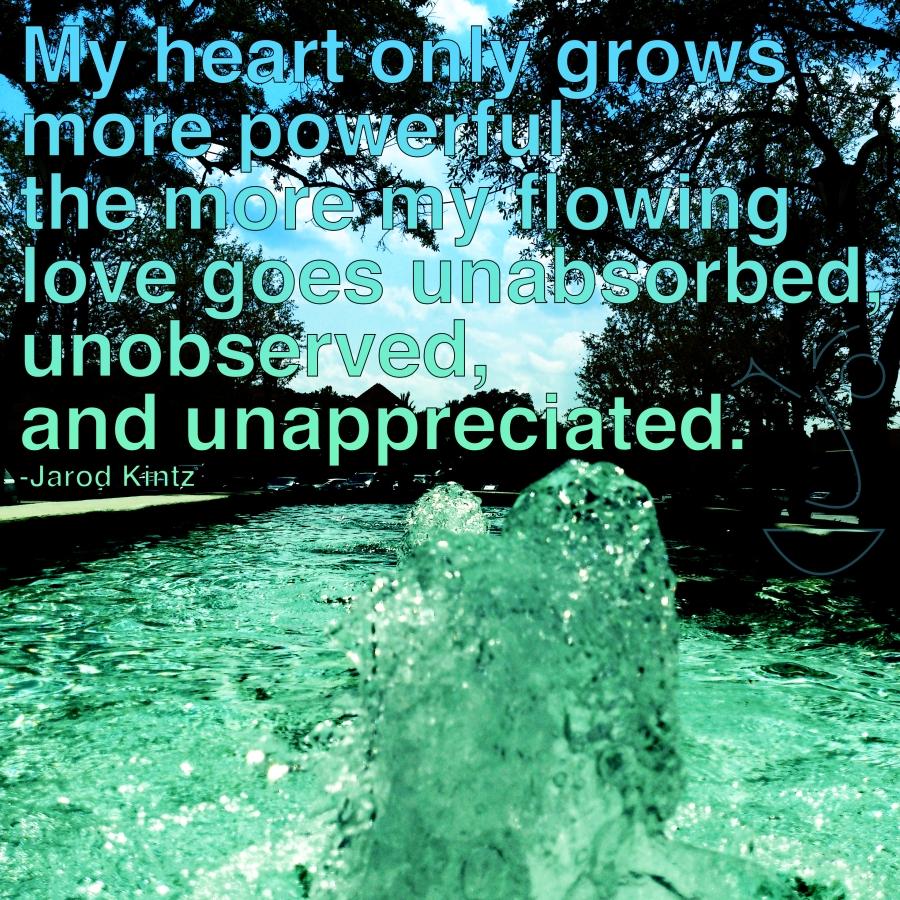 Flowing love