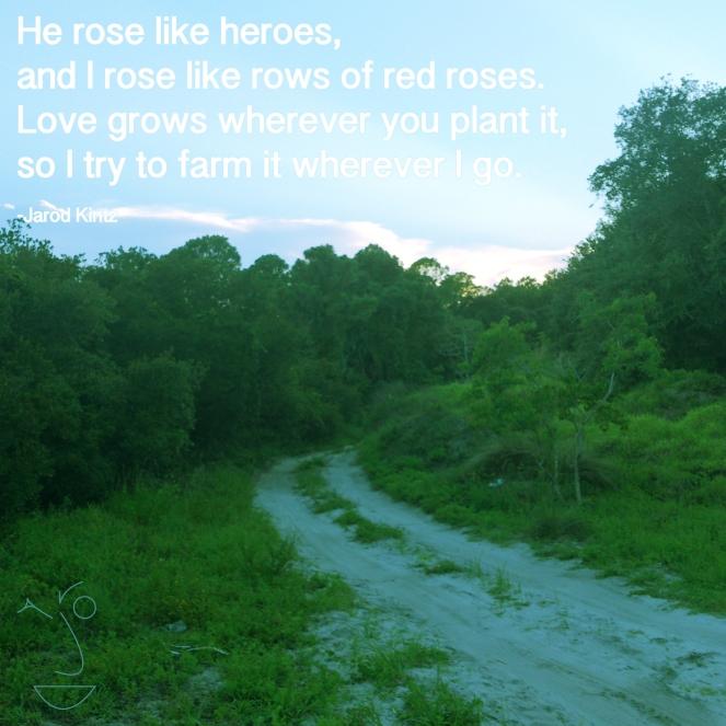 he rose like heroes
