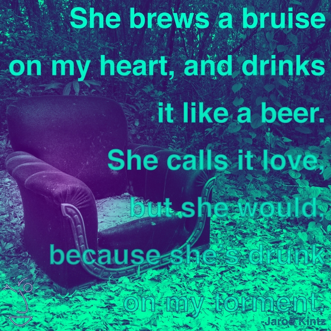 she brews a bruise