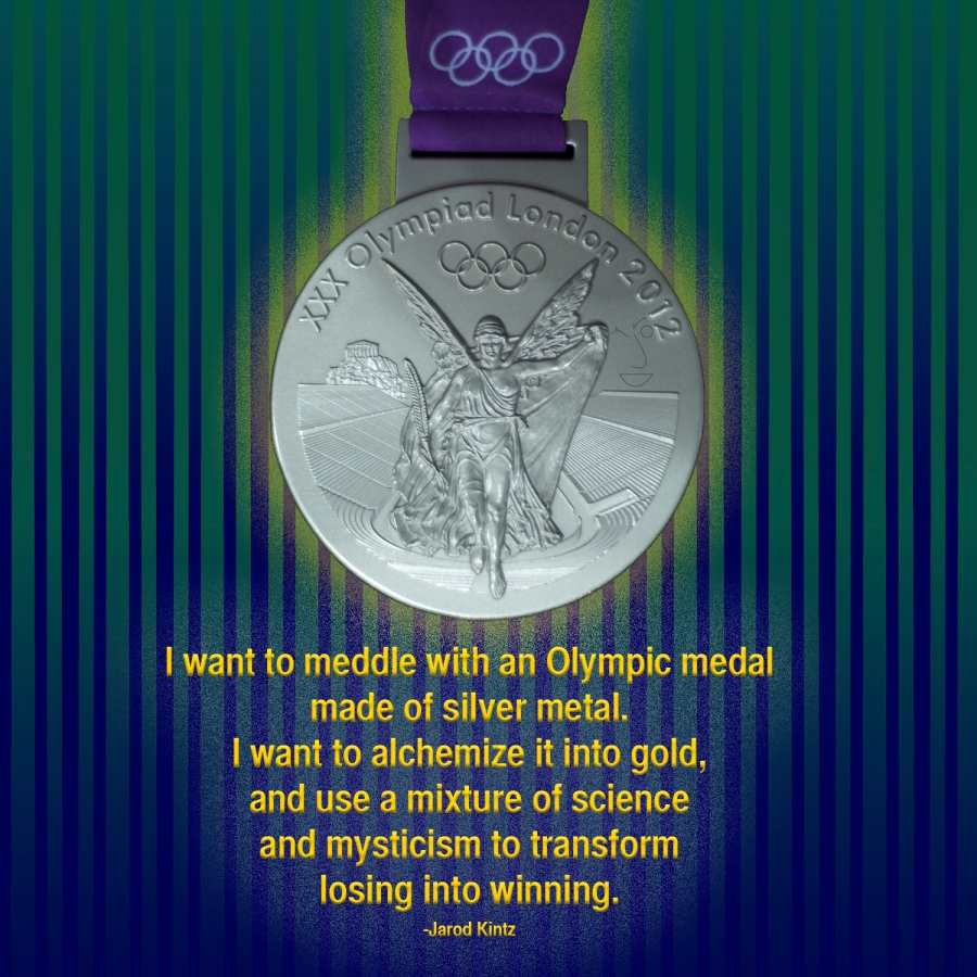meddle with a medal