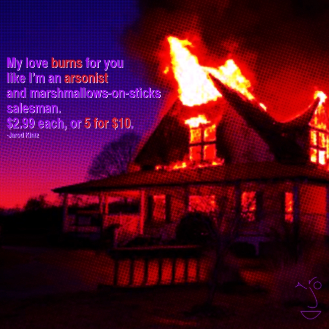my love burns