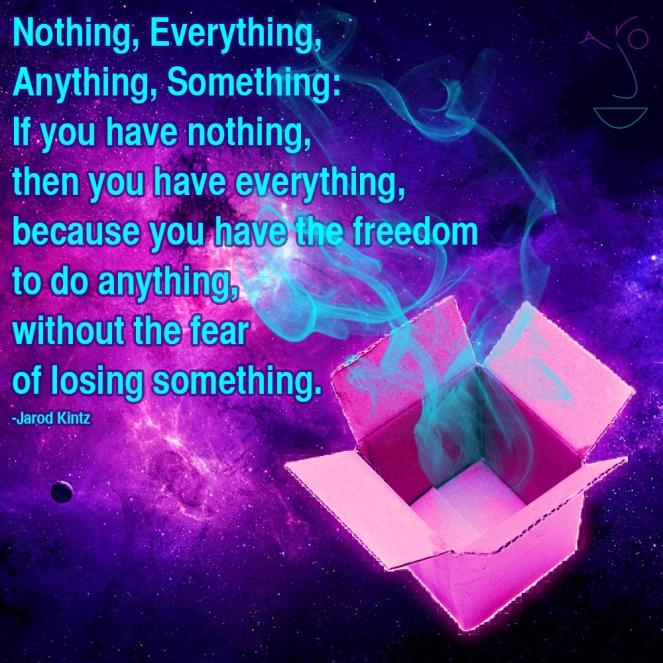 nothing everything