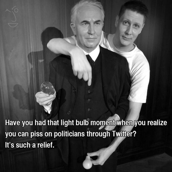 piss on politicians