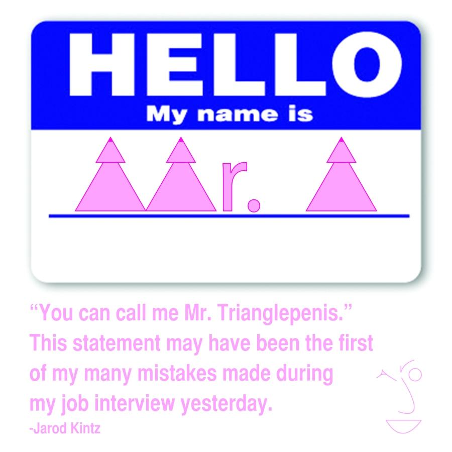 Mr. Trianglepenis logo
