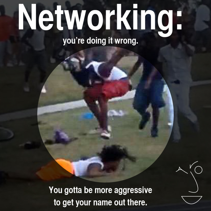 networking doing it wrong