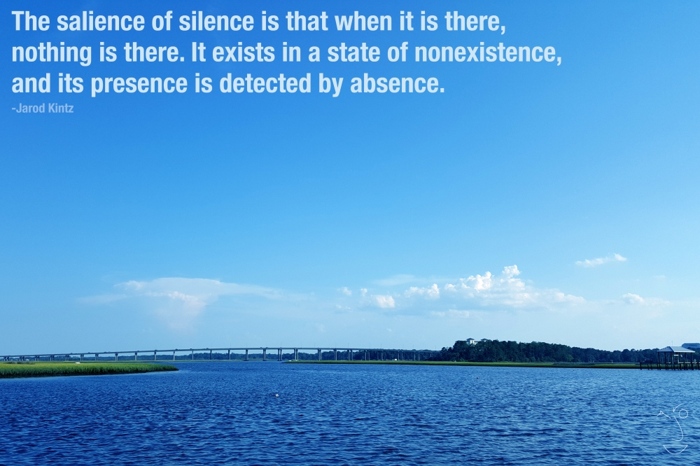 Salience of silence